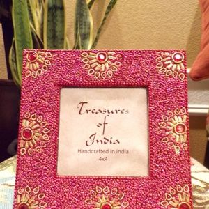 Treasure of India Handmade Decorated Picture Frame